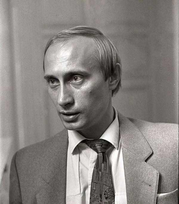 بیوگرافی ولادیمیر پوتین (+ عکس های خانوادگی)