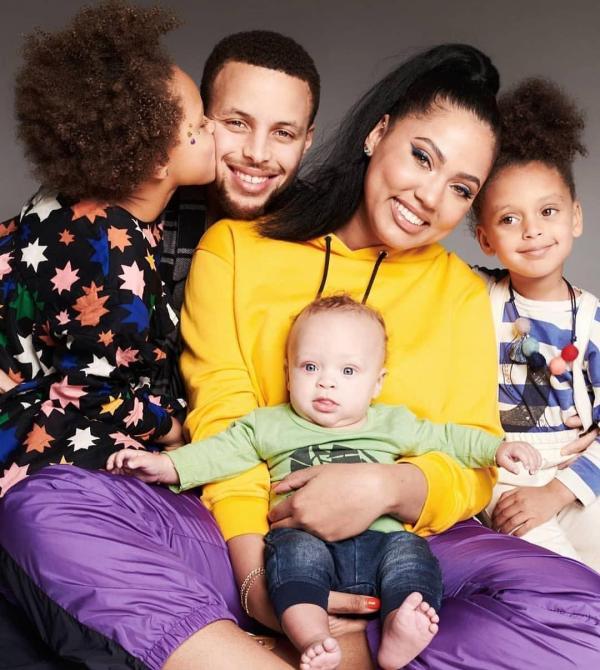 همسر و فرزندان استفن کری,استفن کری,تصاویر اینستاگرامی استفن کری