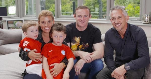 وین رونی و خانواده,عکس جدید وین رونی,وین رونی