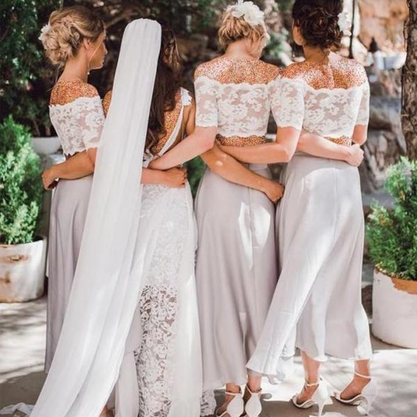 لباس ساقدوش عروس,انواع مدل لباس ساقدوش عروس,شیک ترین مدل لباس ساقدوش عروس