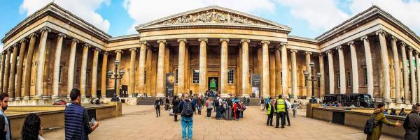 موزه بریتانیا لندن,موزه های معروف دنیا,بخش های موزه بریتانیا