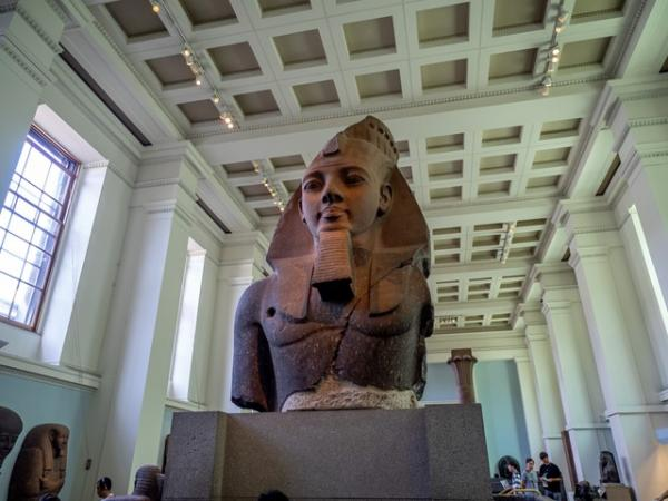 آشنایی با موزه بریتانیا,معماری موزه بریتانیا,موزه بریتانیا