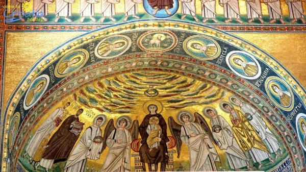 ویژگی های هنر بیزانس,خلاصه هنر بیزانس,تاریخچه هنر بیزانسی