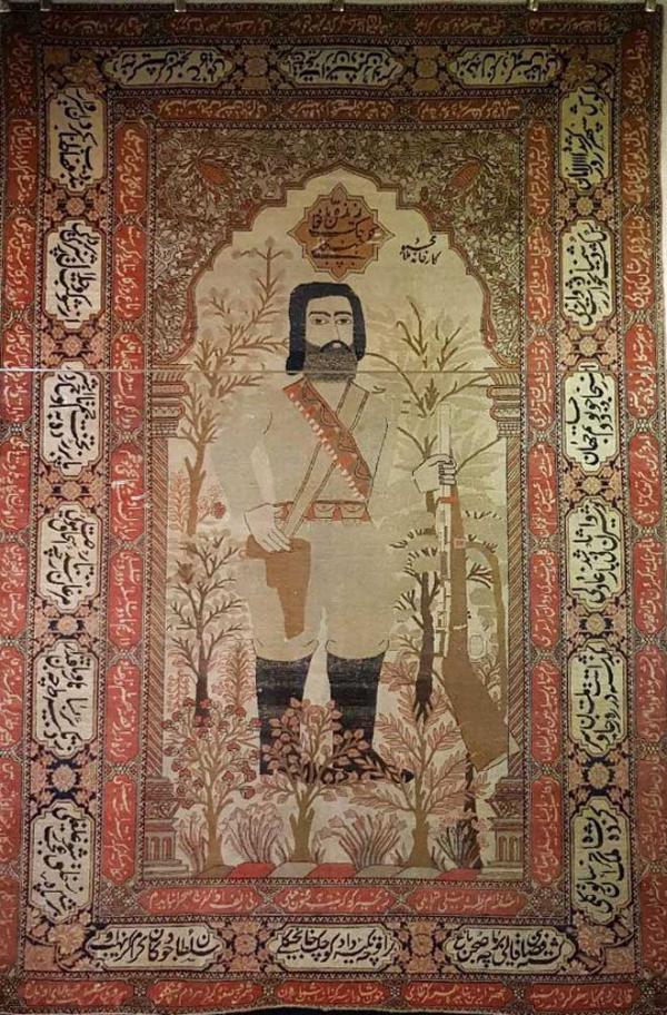 موزه فرش,فرش های ارزشمند موزه فرش,فرش میرزا کوچک خان جنگلی