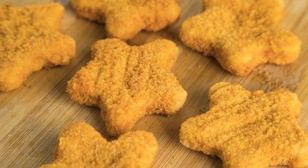 ناگت مرغ طرز تهیه,ناگت مرغ,ناگت مرغ خانگی