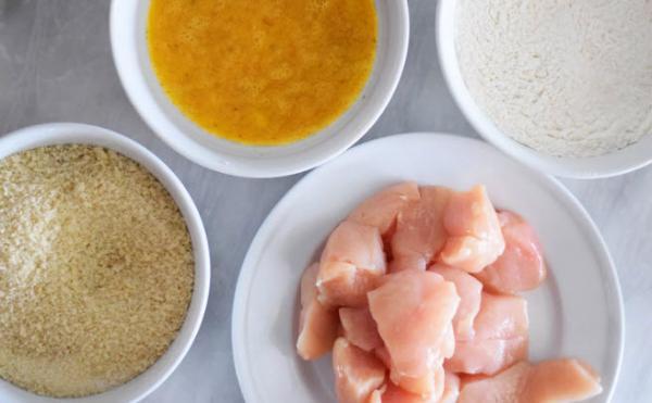تهیه ناگت مرغ,ناگت مرغ,طرز پخت ناگت مرغ