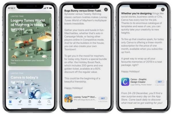هدیه کریسمس اپل به کاربران اپ استور,جشن کریسمس,اپلیکیشن اپ استور,پیشنهادات اپل به کاربرانش,appstore