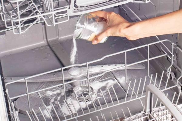 نحوه شستشوی ماشین ظرفشویی,نحوه تمیز کردن ماشین ظرفشویی,جرم گیری ماشین ظرفشویی با پودر