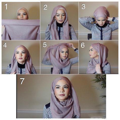 طرز بستن شال,مدل بستن شال و روسری با حجاب,روش بستن شال