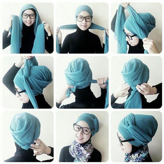 مدل بستن شال,نحوه بستن شال,طریقه بستن شال و روسری