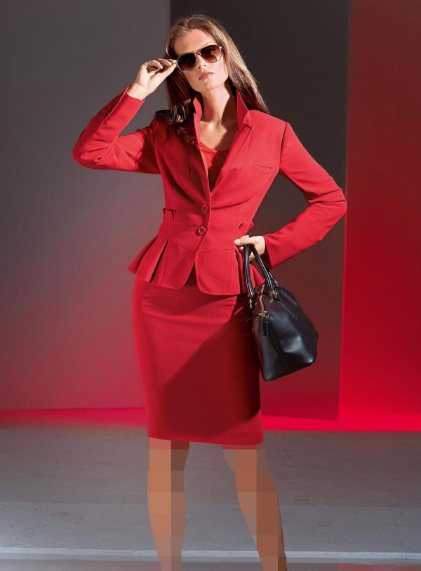 تصاویر کت و دامن زنانه,کت و دامن طرح جدید,مدل کت و دامن