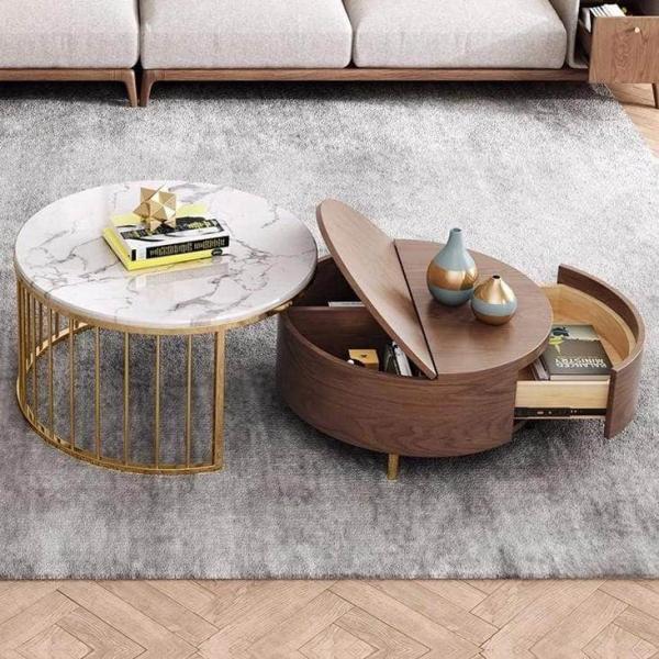 میز پذیرایی با چوب,طراحی جالب میز پذیرایی,طرح های میز پذیرایی