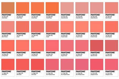 رنگ سال 2019,رنگ مرجانی رنگ سال 2010,رنگ مد سال 98