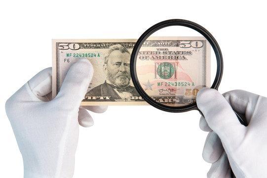 تشخیص دلار تقلبی از اصل,دلار تقلبی,چاپ دلار تقلبی