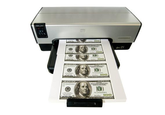 تشخیص دلار تقلبی از اصل,چاپ دلار تقلبی,روش تشخیص دلار تقلبی