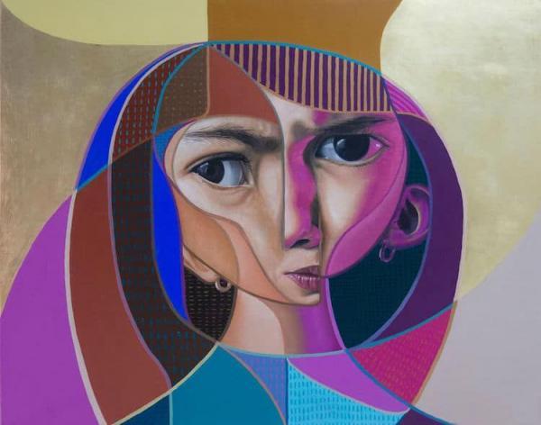 نقاشی کوبیسم عکس,کوبیسم,طرح نقاشی کوبیسم