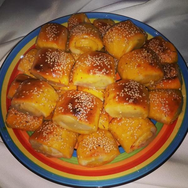 شیرینی دانمارکی,پخت شیرینی دانمارکی,آموزش شیرینی دانمارکی