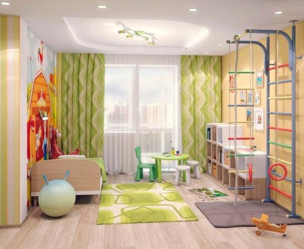 دکوراسیون اتاق کودک,دکوراسیون اتاق کودک و نوجوان,عکس دکوراسیون اتاق کودک