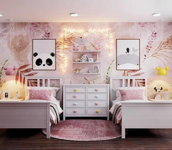 دکوراسیون اتاق کودک,دکوراسیون اتاق کودک دختر,دکوراسیون اتاق کودک نوزاد