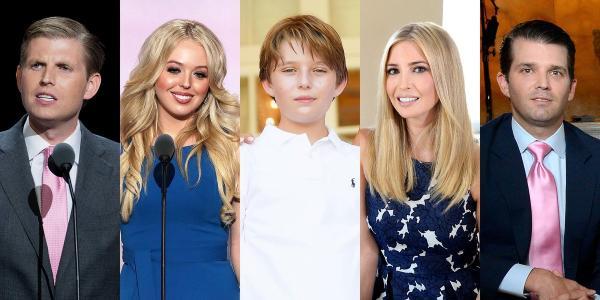فرزندان دونالد ترامپ,دونالد ترامپ,بارون ترامپ
