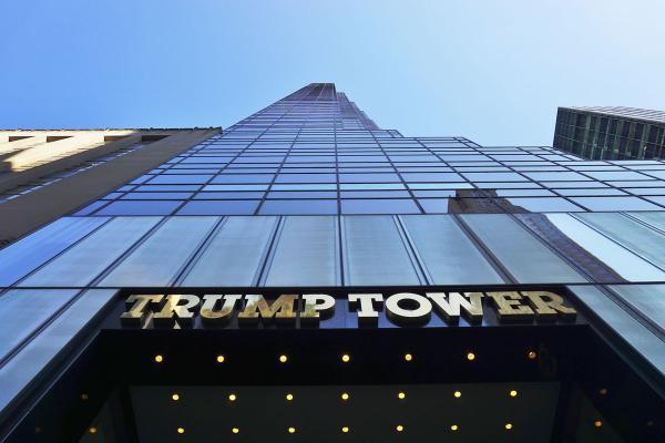 برج های دونالد ترامپ,محل زندگی دونالد ترامپ,دونالد ترامپ