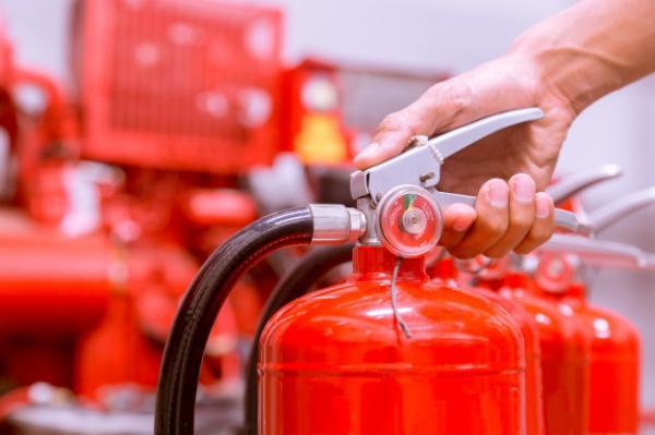 سیستم اطفا حریق گازی,سیستم اطفا حریق دستی,اطفا حریق