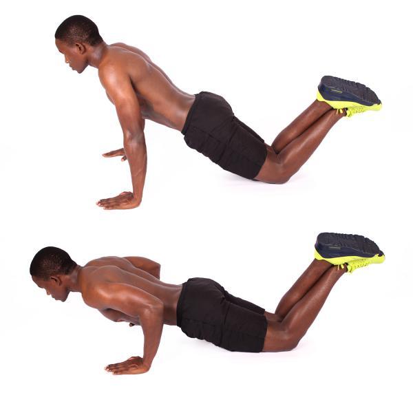 رفع افتادگی بازو با حرکت قیچی دست ها,حرکت بازوی سه سر برای رفع افتادگی بازو,رفع افتادگی بازو