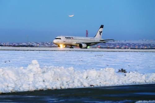 پرواز در هوای برفی,شرایط جوی برای پرواز,پرواز هواپیماها