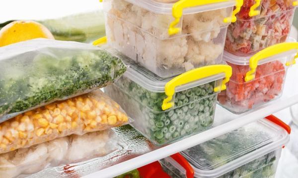موادخوراکی هایی که نباید یخ بزند,بررسی ارزش غذایی مواد خوراکی,بررسی ارزش غذایی غذاهای کنسروی