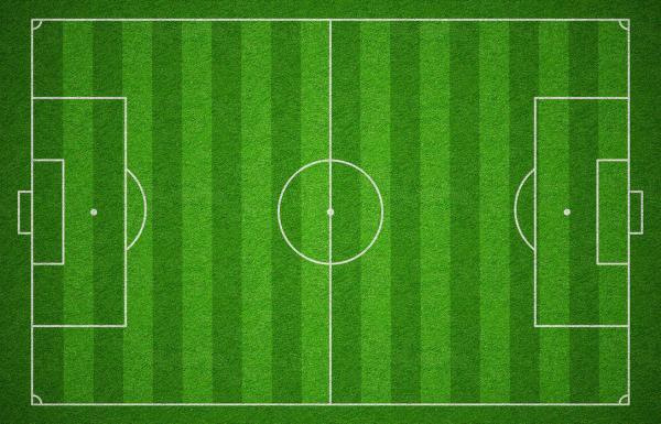 زمین فوتبال,مساحت زمین فوتبال,شکل زمین فوتبال