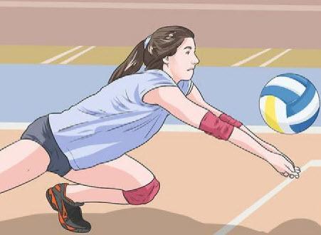 تکنیک ساعد در والیبال,آموزش ساعد در والیبال,ساعد در والیبال