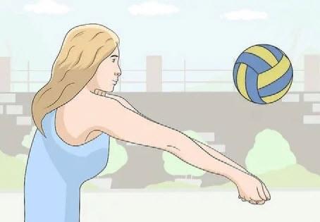 ساعد در والیبال,تمرینات ساعد در والیبال,روش صحیح ساعد در والیبال