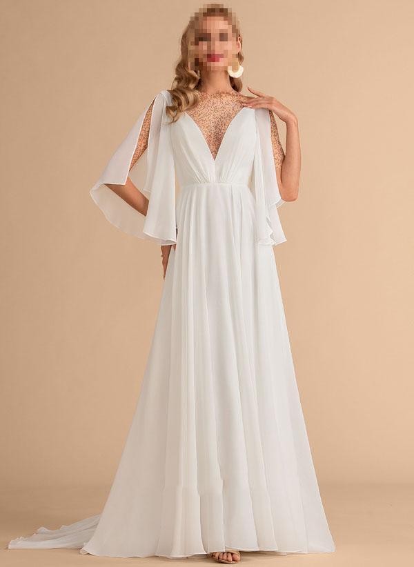 لباس عروس فرمالیته سفید,لباس عروس فرمالیته,جدیدترین لباس عروس فرمالیته