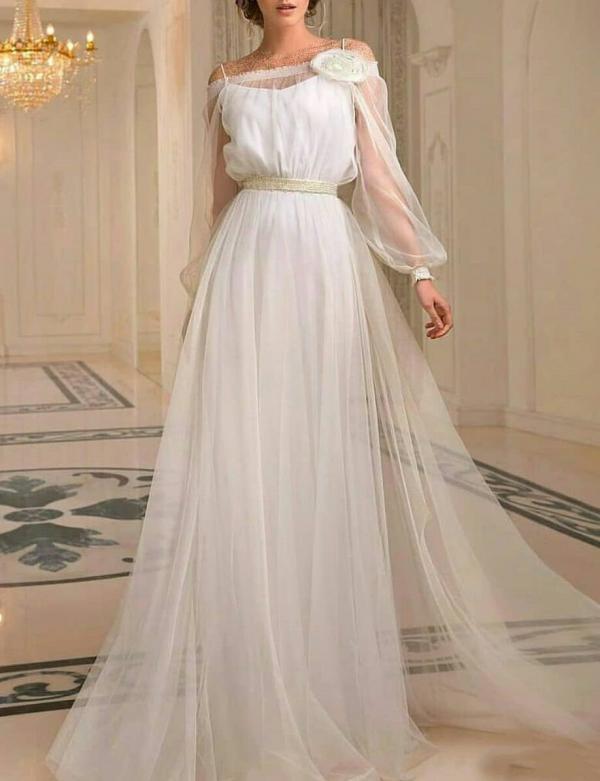لباس عروس فرمالیته,مدلهای لباس عروس فرمالیته,لباس عروس فرمالیته پوشیده