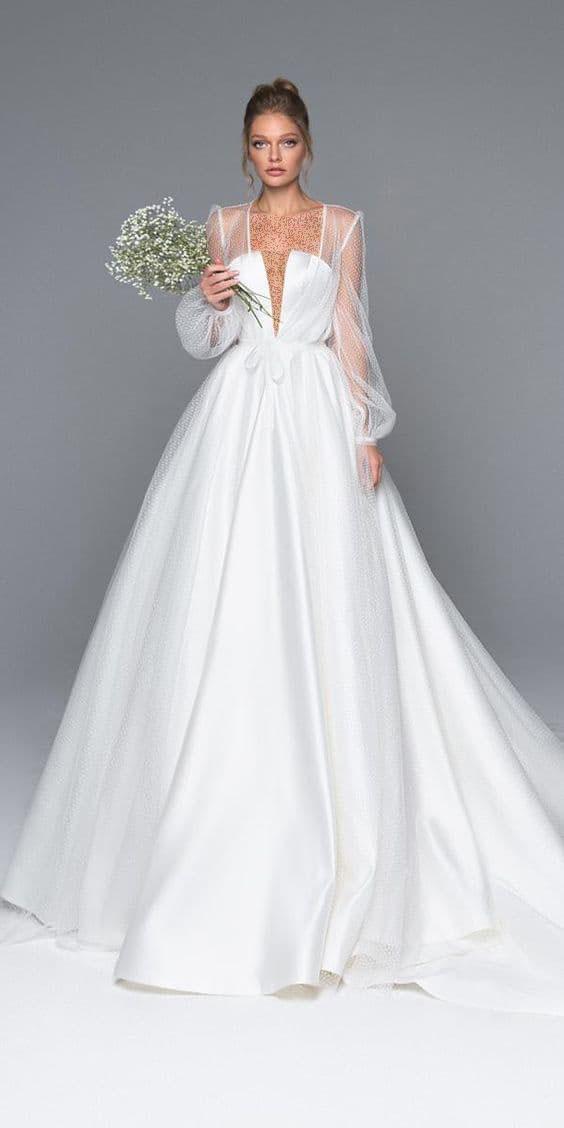 لباس عروس فرمالیته حریر,لباس عروس فرمالیته,لباس عروس فرمالیته پوشیده
