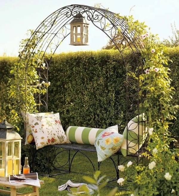 تزیین باغ،عکس طراحی باغ,طراحی باغ ویلا