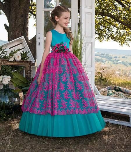 لباس پفی و پرنسسی دخترانه