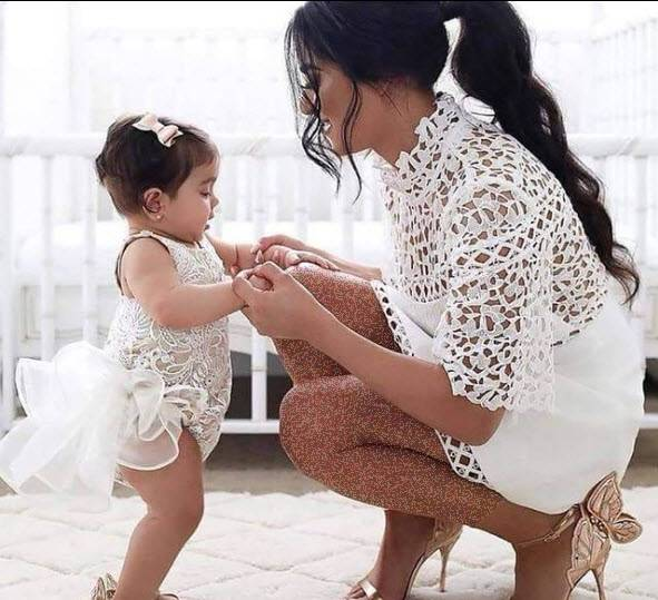 انواع ست مادر دختری,ست مادر دختری کوتاه,ست مادر دختری