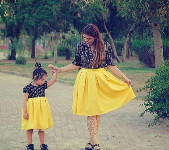 ست مادر دختری زیبا,ست مادر دختری کوتاه,ست مادر دختری