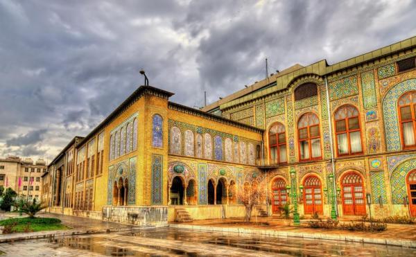 تالار برلیان کاخ گلستان,کاخ گلستان,کاخ گلستان تهران