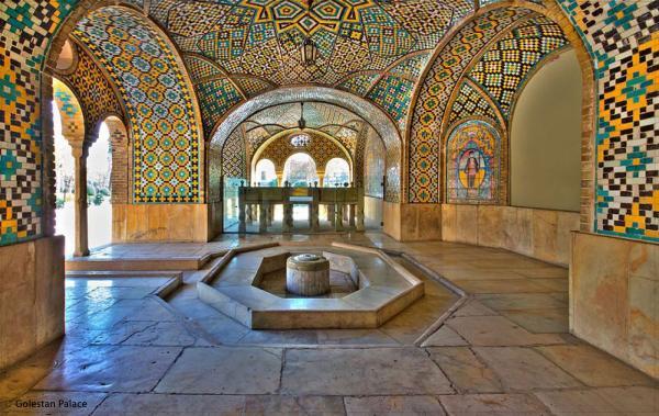 عکس کاخ گلستان,کاخ گلستان,معماری کاخ گلستان