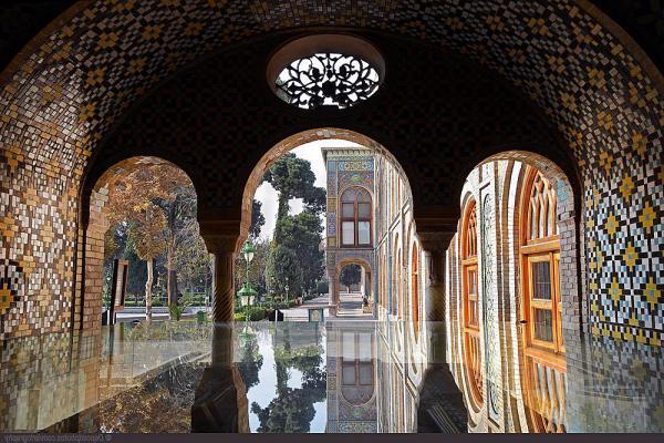 کاخ گلستان,عکسهای کاخ گلستان,مرمت کاخ گلستان