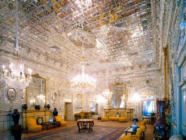 خلوت کریمخانی کاخ گلستان,تصاویر کاخ گلستان,کاخ گلستان