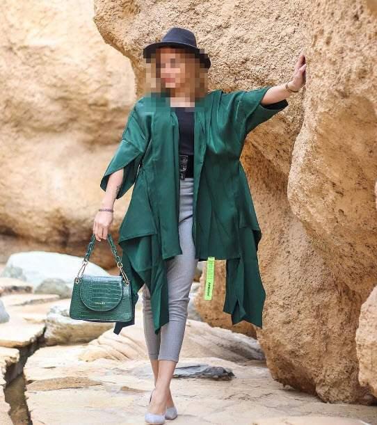 مدل مانتو سبز اسپرت,ست مانتو سبز دخترانه,ست مانتو سبز زیبا و مجلسی