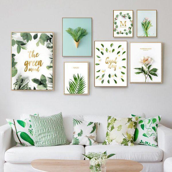 ترکیب رنگ سبز در دکوراسیون,استفاده از رنگ سبز در دکوراسیون,رنگ سبز در دکوراسیون