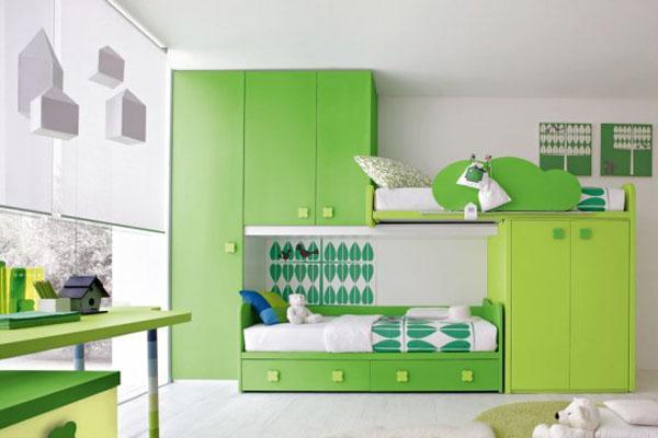 روانشناسی رنگ سبز در دکوراسیون,رنگ سبز در دکوراسیون,ترکیب رنگ سبز در دکوراسیون
