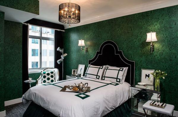رنگ سبز در دکوراسیون,استفاده از رنگ سبز در دکوراسیون اتاق خواب,استفاده از رنگ سبز در دکوراسیون اتاق کودک