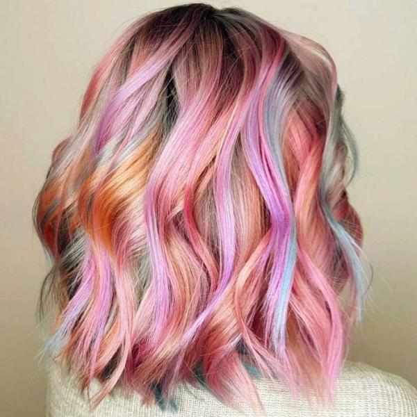 رنگ مو,کاتالوگ رنگ مو,انواع مدل رنگ مو