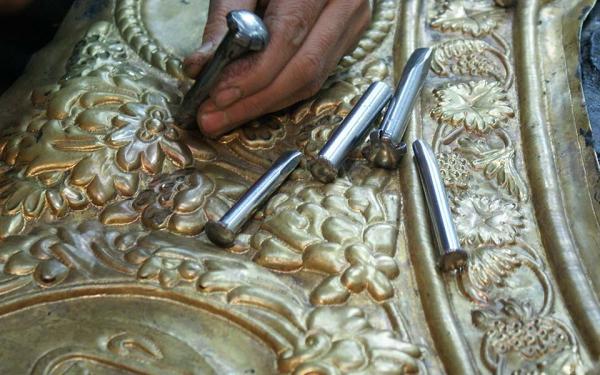 تاریخچه قلم زنی,قلم زنی,آشنایی با هنر قلم زنی