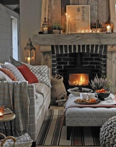 دکوراسیون زمستانی خانه,دکوراسیون منزل در زمستان,دکوراسیون داخلی